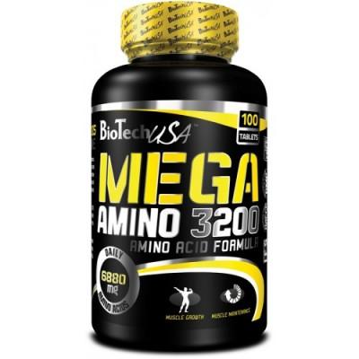 BioTech Mega amino 3200 100 tabs