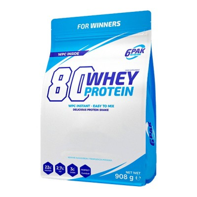 6Pak 80 Whey Protein 900 g