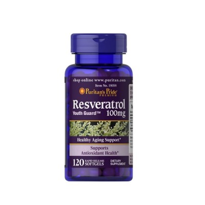 Puritan`s Pride Resveratrol 100 mg 120 Soft