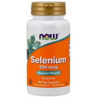 NOW Selenium 200 mcg 90 caps
