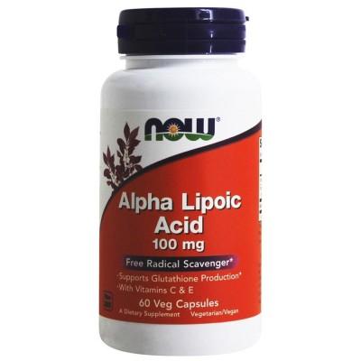 NOW Alpha Lipoic Acid 100 mg 60 caps