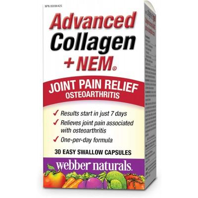 Webber Naturals Advanced Collagen + NEM 30 caps