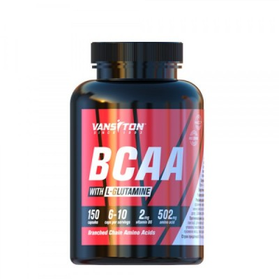 Vansiton BCAA with L-Glutamine 150 caps