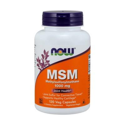 Now Foods MSM 1000 mg 120 caps