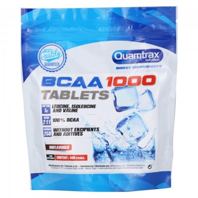 Quamtrax BCAA 1000 500 tabs