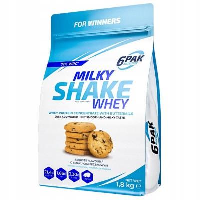 6PAK Milky Shake Whey 1800 g