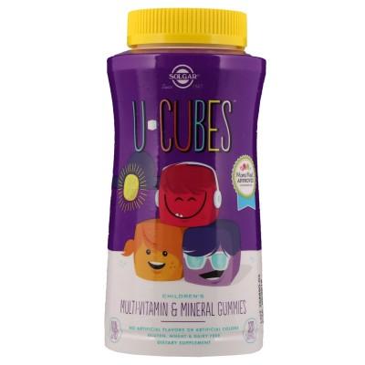 Solgar U-Cubes Children's Multi-Vitamin & Mineral 60 gummies
