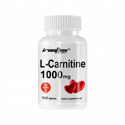 IronFlex L-Carnitine 1000 100 tabs