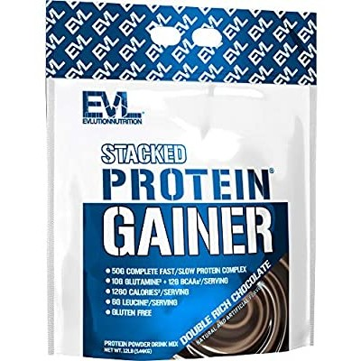 EVL Nutrition Stacked Protein Gainer 5450 g