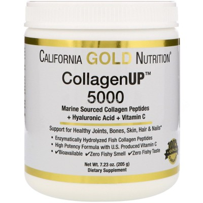 California Gold Nutrition	CollagenUP 206 g