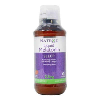 Natrol Melatonin 2.5 mg 237 ml