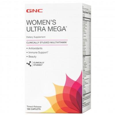 GNC Women`s Ultra Mega 180 caps