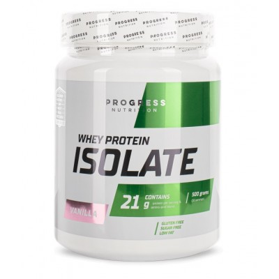 Progress Nutrition Whey Protein Isolate 500 g