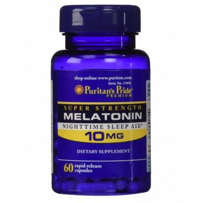 Puritan's Pride Melatanin 10 mg 60 caps