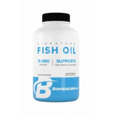 Bodybuilding Signature Fish Oil with Omega-3 100 Soft
