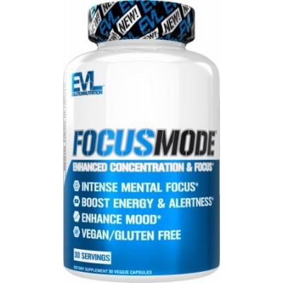 EVL Nutrition Focus Mode 30 caps
