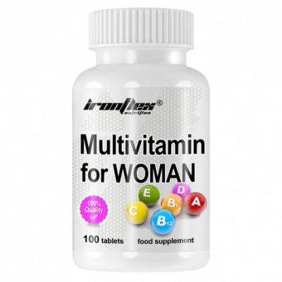 IronFlex Multivitamin for Women 100 tabs