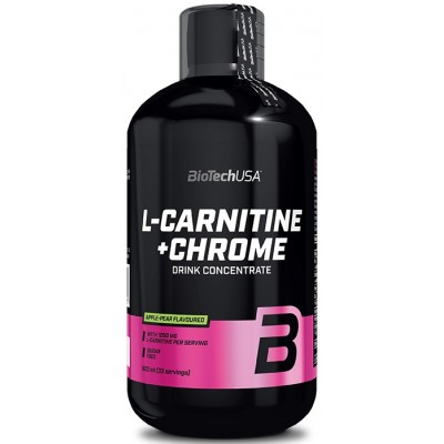 BioTech L-Carnitine+Chrome 500 ml
