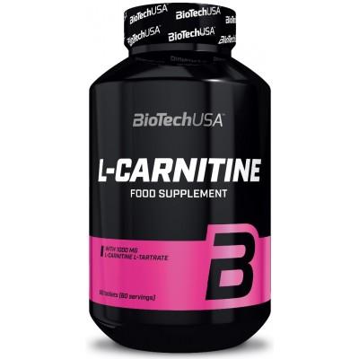 BioTech L-Carnitine 1000 mg 60 tabs