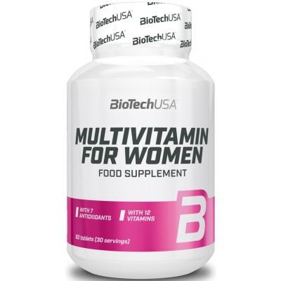 BioTech Multivitamin for Women 60 tabs