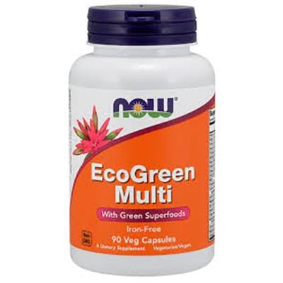 NOW EcoGreen Multi 90 caps