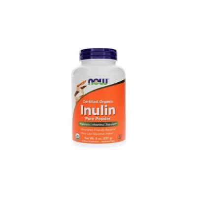 NOW Inulin Powder Organic 227 g