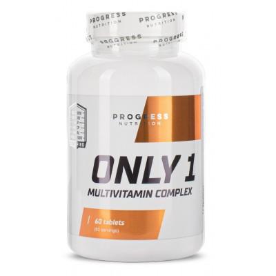 Progress Nutrition Only 1 60 tabs