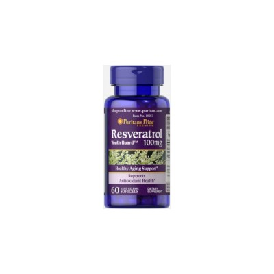 Puritan`s Pride Resveratrol 100 mg 60 Soft