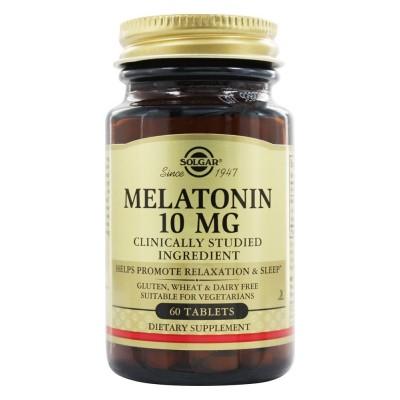 Solgar Melatonin 10 mg 60 tabs