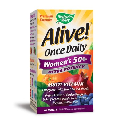 Nature's Way Alive Once Daily Women's 50+ 60 tabs