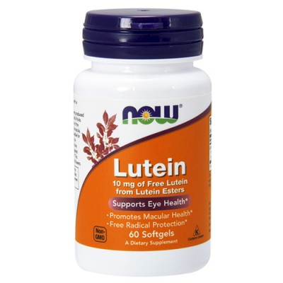 NOW Lutein 10 mg 60 caps