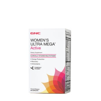 GNC Womens Ultra Mega Active 90 caps