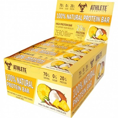 Athlete Genetics 100% Natural Protein Bar 70 g