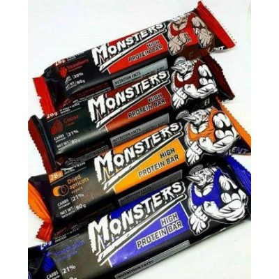 Monsters High Protein Bar 80 g