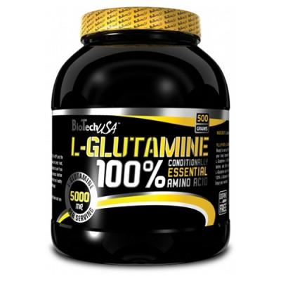 Biotech l-glutamine 500 g