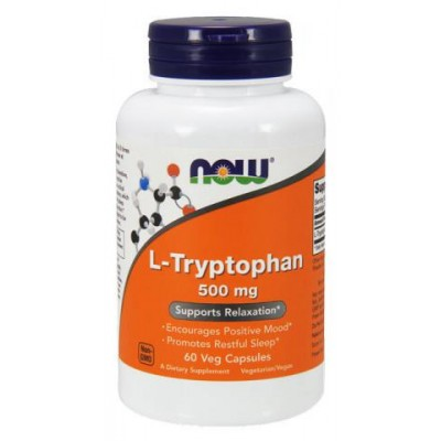 NOW L-Tryptophan 500 mg 60 caps