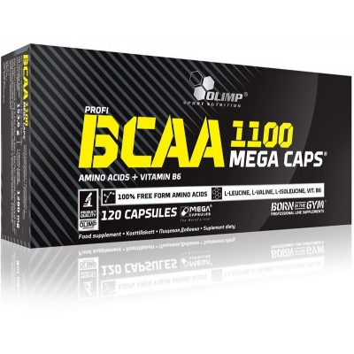 Olimp Profi BCAA Mega Caps 1100 120 caps