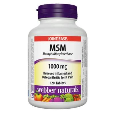 Webber Naturals MSM 1000 mg 160 tabs