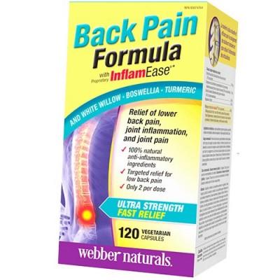 Webber Naturals Back Pain Formula 120 caps