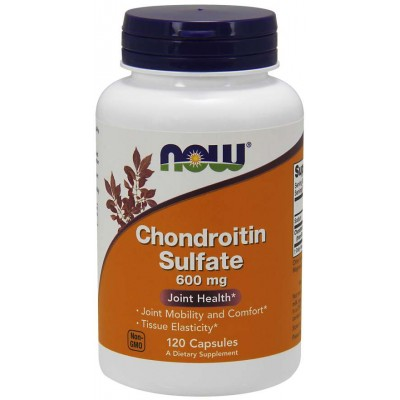NOW Chondroitin Sulfate 600 mg 120 caps