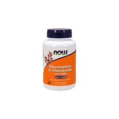 NOW Glucosamine & Chondroitin & MSM 90 caps