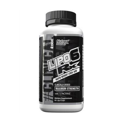 Nutrex Lipo 6 Rx 60 liquid-caps