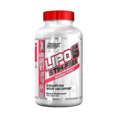 Nutrex Lipo 6 stim free 120 caps