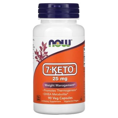 NOW Foods 7-KETO 25 mg 90 veg caps