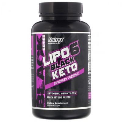 Nutrex Lipo-6 Black Keto 60 caps