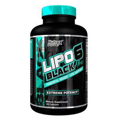 Nutrex Lipo-6 Black Hers 120 black-caps