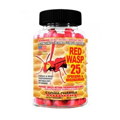 Cloma Pharma Red Wasp 25 75 caps