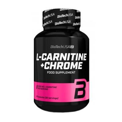 Biotech L-Carnitine + Chrome 60 caps