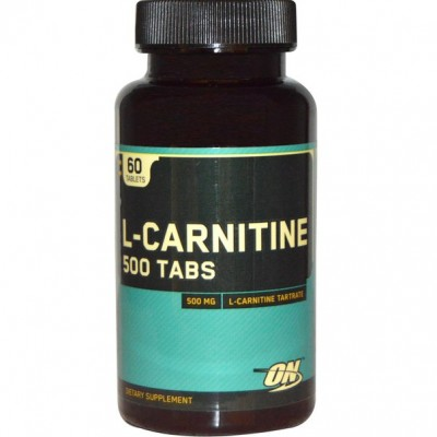Optimum Nutrition L-carnitine 500 60 tabs
