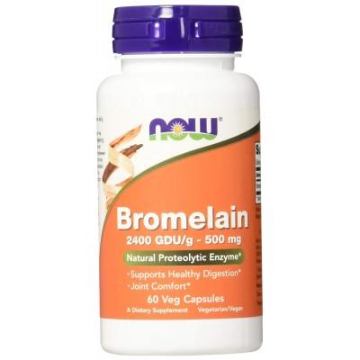 NOW Bromelain 500 mg 60 caps
